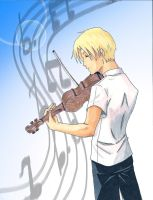 AAU_The Violinist_TG C#21 by Half-Elf