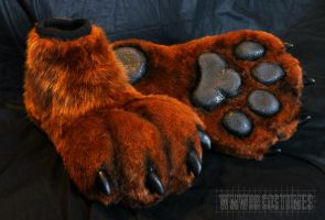 Feetpaws for Cody by WMW66-costumes