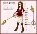 Delilah Penrose - KH OC by April-Lily