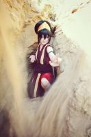 Toph Bei Fong - Mastering the sand! by Melonl0rd