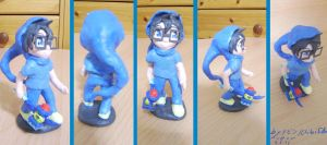 HS - John - clay figure by ChibiEdo