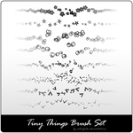 tiny things brush set by vadimfrolov