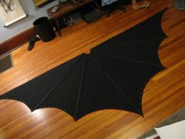 Batwoman cape WIP by hollymessinger