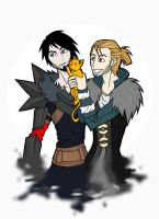 anders and hawke by rotten-jelly-babie