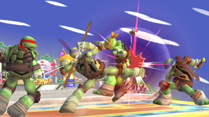 Ninja Turtles in SSB Brawl *Video link below* by Cry4Ugly