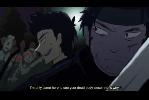 Scott and Snake: Team up [fake anime screencap] by tunaniverse