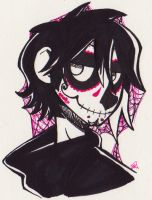 Sugar Skull Sully by perhapsgingersnaps