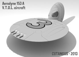 Flying dish number three by CUTANGUS