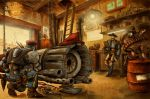 Jack's repair shop by Oli-Carpentier