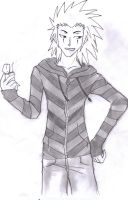 AXEL and his lighter by Jadethefirefox