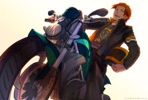 Motorcycle by IC-ICO