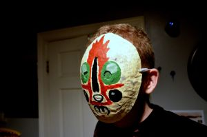 SCP-173 Mask by SnuffBomb