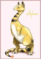 Ampharos by Rodentruler