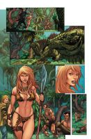 Jungle Girl page 4 by GiovaniKososki
