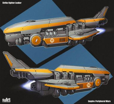 Strike fighter Leaker by KaranaK