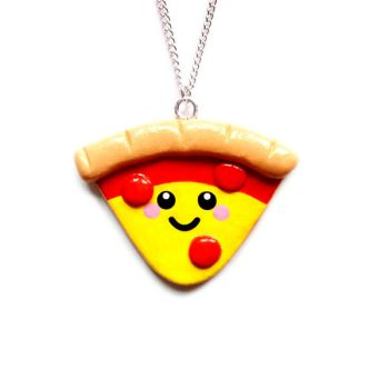 Pizza Lover Necklace by LittleMissDelicious