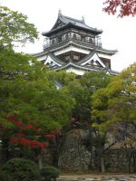 Hiroshima Castle. by blindbutblink