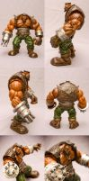 FF7 Barret custom figure by SomaKun