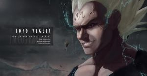 Prince Vegeta // Anime Realism by imcostalong
