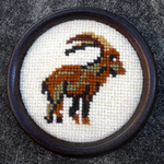 Goat embroidery by Koyukionna