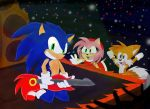 AT: Sonic playing the Guitar by Dapuffster