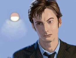 Tenth Doctor by martinacecilia