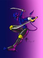 NightCrawler_Angel-T_colorz by FooRay