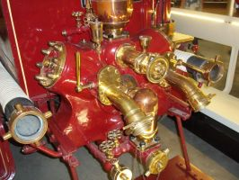 Brass Fire Engine Detail 3 by BonnySaintANdrew