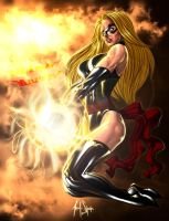 Ms Marvel is angry by 00AceOfSpades00