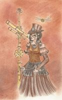Steampunk  - 6. coloring pt II by Waldbraut