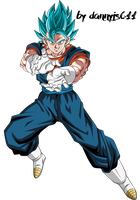 Vegetto Blue  |  Thanks for 1000 Watchers by Dannyjs611