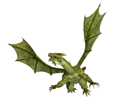 Dragon 16 PNG Stock by Roys-Art