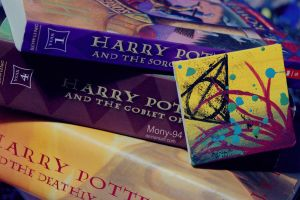 Deathly Hallows On Canvas. by Noctelux