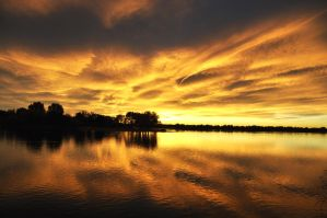 :: Lake of Fire :: by avogel57photos