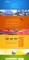 Umbrella - One Page layout for umbrellas producer by SycylianBeef
