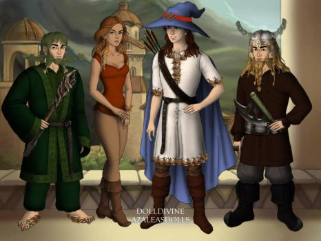 Cleric Quintet - Lord of the Rings Scene Maker by DionneJinn