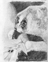 Loris sketch by FamiliarOddlings