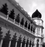 High Court Monochromed. by Talk3talk4