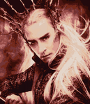 Thranduil Cross Stitch Pattern Preview by shingorengeki