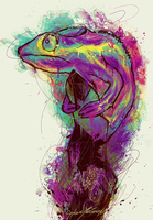 Chameleon by kybel