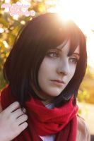 Mikasa Ackerman by Bell-hime