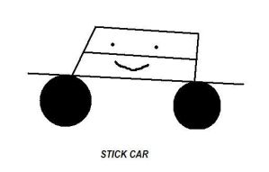 Stick car by Francesco-Bernoulli