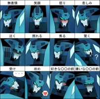 BLURR expressions meme by ANDREAc
