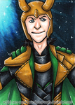 Loki [Day 3] by wondering-souls