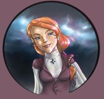 Astray - Wralley portrait by lenneth