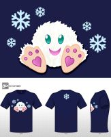 Abominable Snowball by AriesNamarie