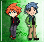 Day 27 .: Hitoshi and Brooklyn :. by darkangel-hikari