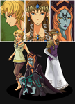 Link's Angels by Yuese
