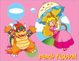 peach festival by Shayeragal