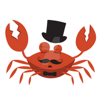 Fancy Crab Man by diphylla